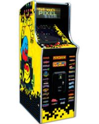 Pac Man's Pixel Bash cabaret at joystix
