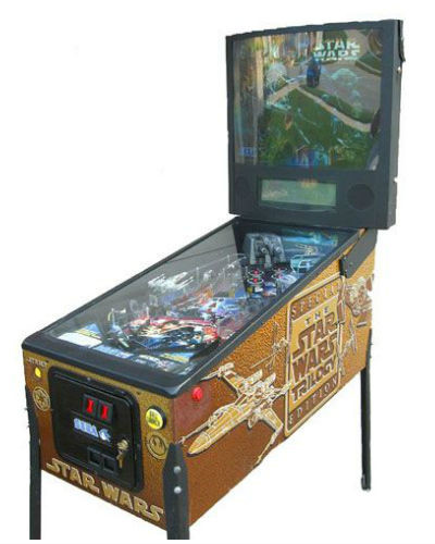 STAR WARS TRILOGY PINBALL AT JOYSTIX