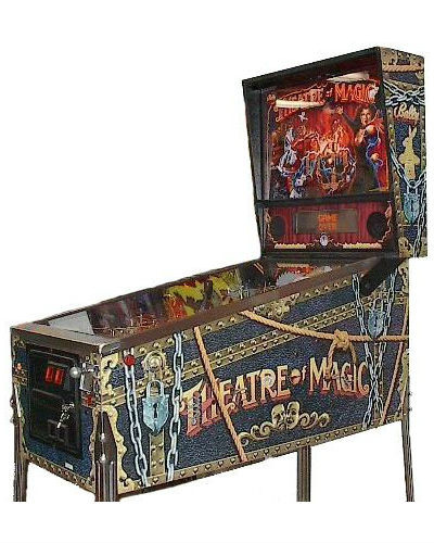 THEATRE OF MAGIC PINBALL AT JOYSTIX