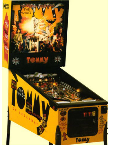 The Who's Tommy Pinball at Joystix