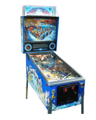 WHITE WATER PINBALL AT JOYSTIX