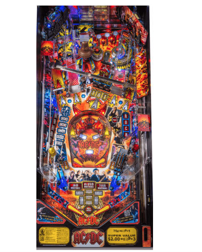 ac dc premium luci edition playfield at joystix