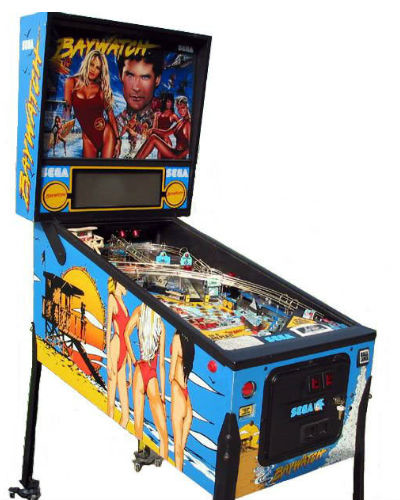 baywatch pinball at joystix