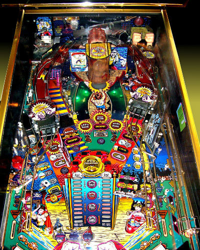 champion pub pinball playfield at joystix
