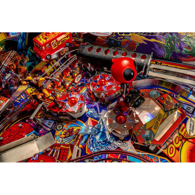deadpool limited edition pinball playfield 2 at joystix