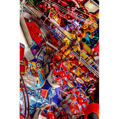 deadpool limited edition pinball playfield 3 at joystix
