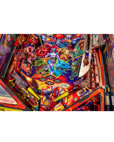 deadpool limited edition pinball playfield 4 at joystix