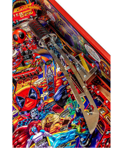 deadpool limited edition pinball playfield 5 at joystix