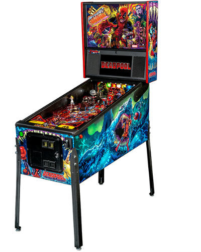 deadpool premium pinball at joystix