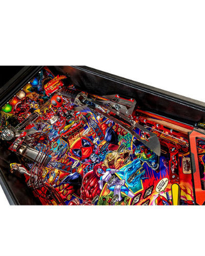 deadpool premium pinball playfield 2 at joystix