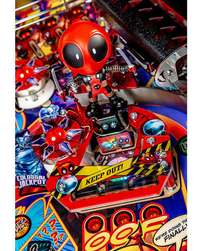 deadpool premium pinball playfield 3 at joystix