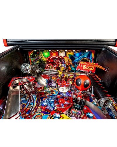deadpool premium pinball playfield 4 at joystix