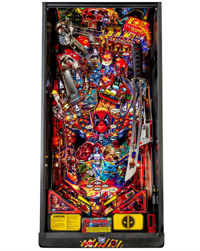 deadpool premium pinball playfield at joystix