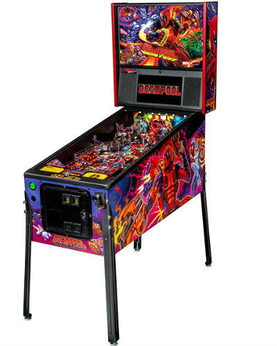 deadpool pro pinball at joystix
