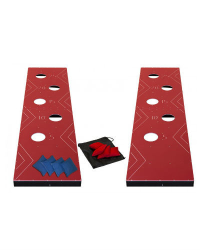 giant cornhole at joystix