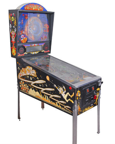 hurricane pinball at joystix