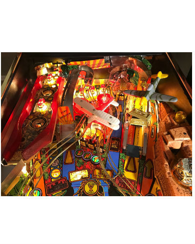 indiana jones pinball playfield 2 at joystix