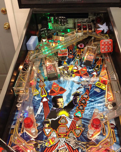 johnny mnemonic pinball playfield at joystix