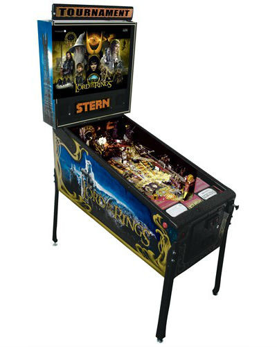 lord of the rings pinball joystix houston