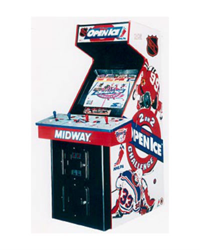 nhl open ice arcade game at joystix