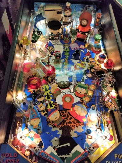 south park pinball playfield 3 at joystix