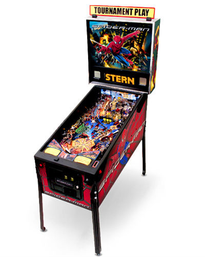 spiderman pinball at joystix