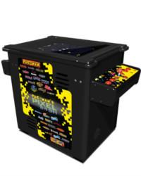 pac man's pixel bash black cocktail at joystix