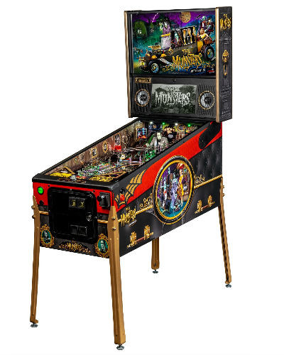 Munsters LE pinball at joystix