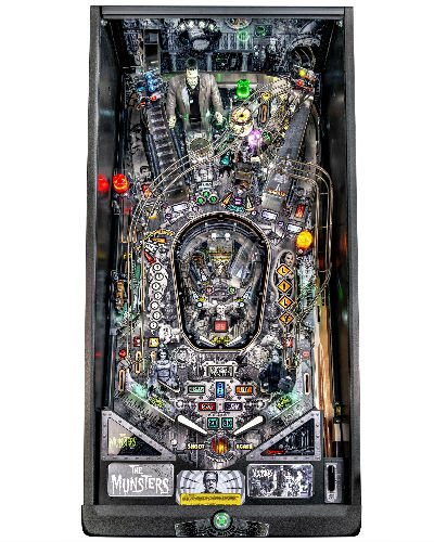 Munsters premium pinball playfield at joystix