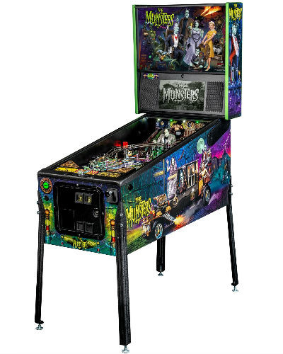 Munsters pro pinball at joystix