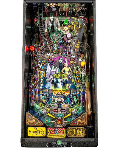 Munsters pro pinball playfield at joystix