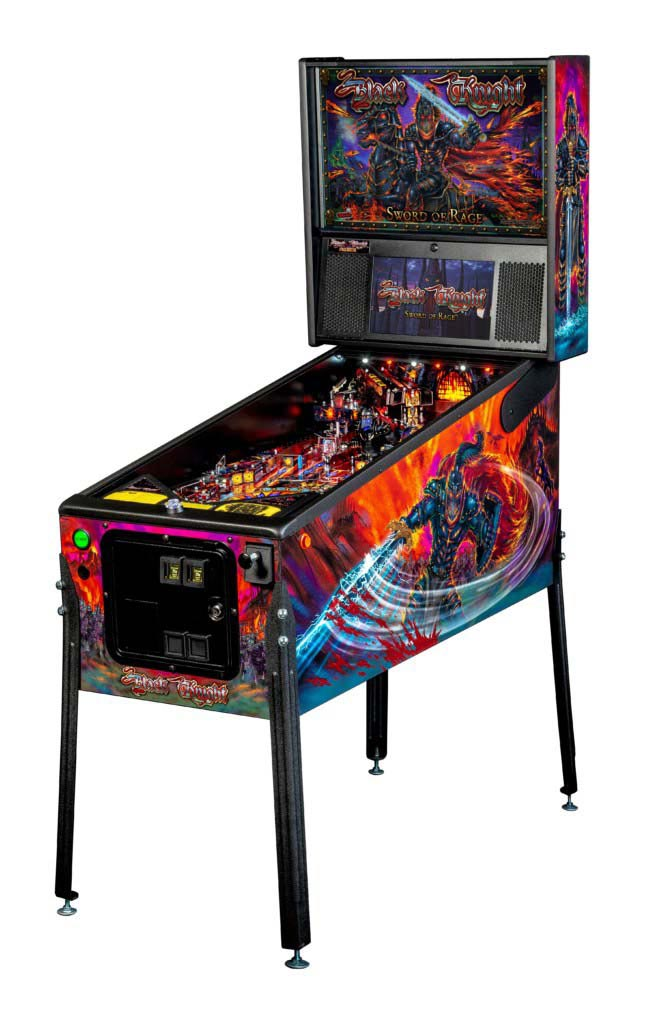Black Knight premium pinball at joystix