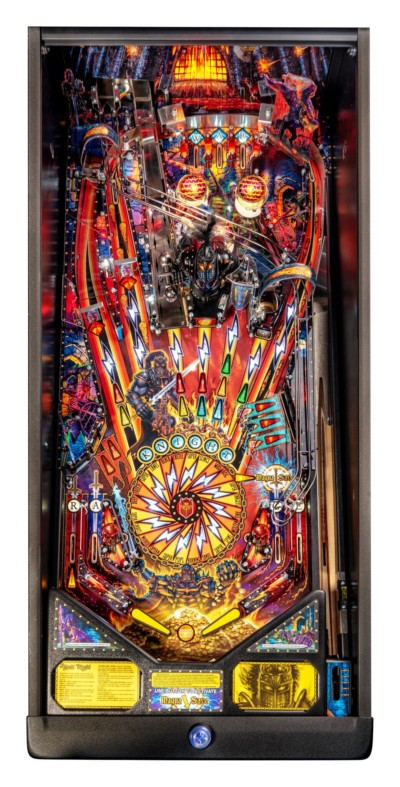 Black knight pro playfield at joystix
