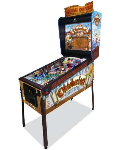 oktoberfest pinball at Joystix