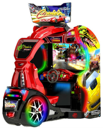 cruis' n blast arcade racer at joystix
