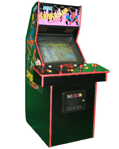 Spiderman arcade game at joystix