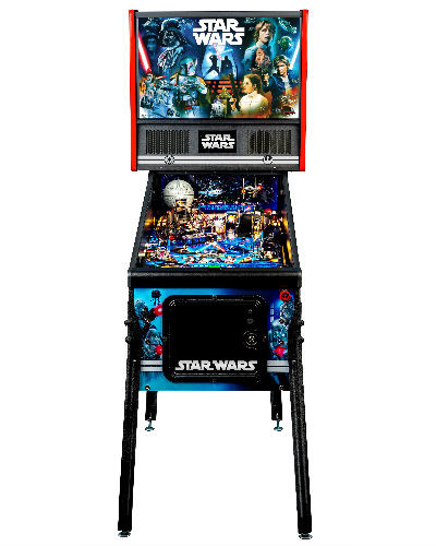 star wars home pinball at joystix front