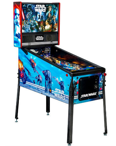 star wars home pinball at joystix left