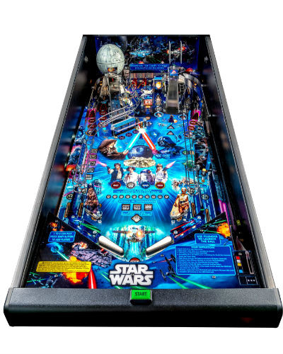 star wars home pinball playfield at joystix