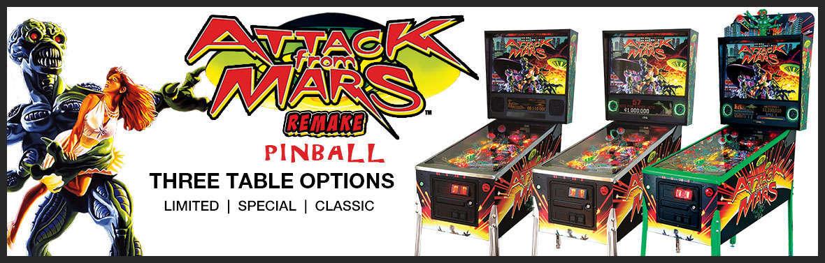 Attack on Mars Remake Pinball Slider