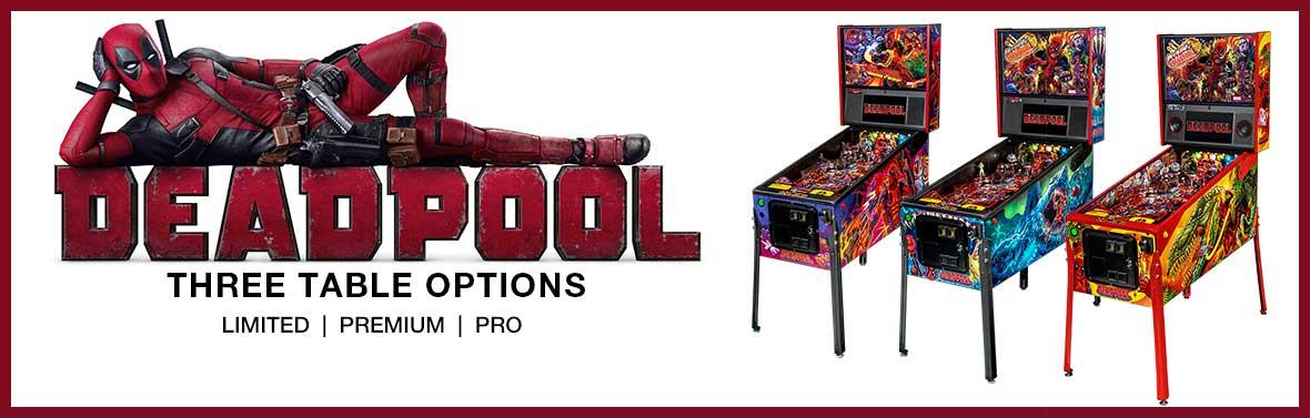 Deadpool Pinball Slider