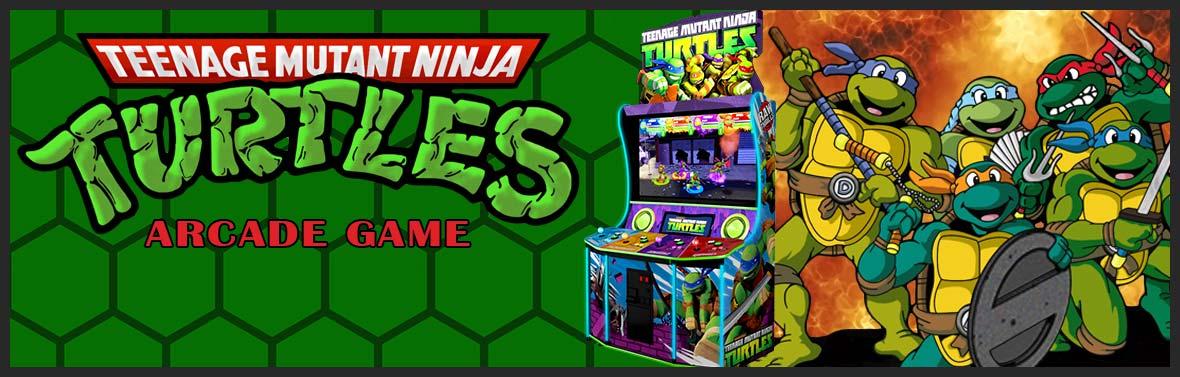 Teenage Mutant Ninja Turtles Arcade Game Slider
